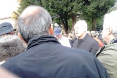 La nostra guida: il prof. Raffi, pres. Italia Nostra Gubbio