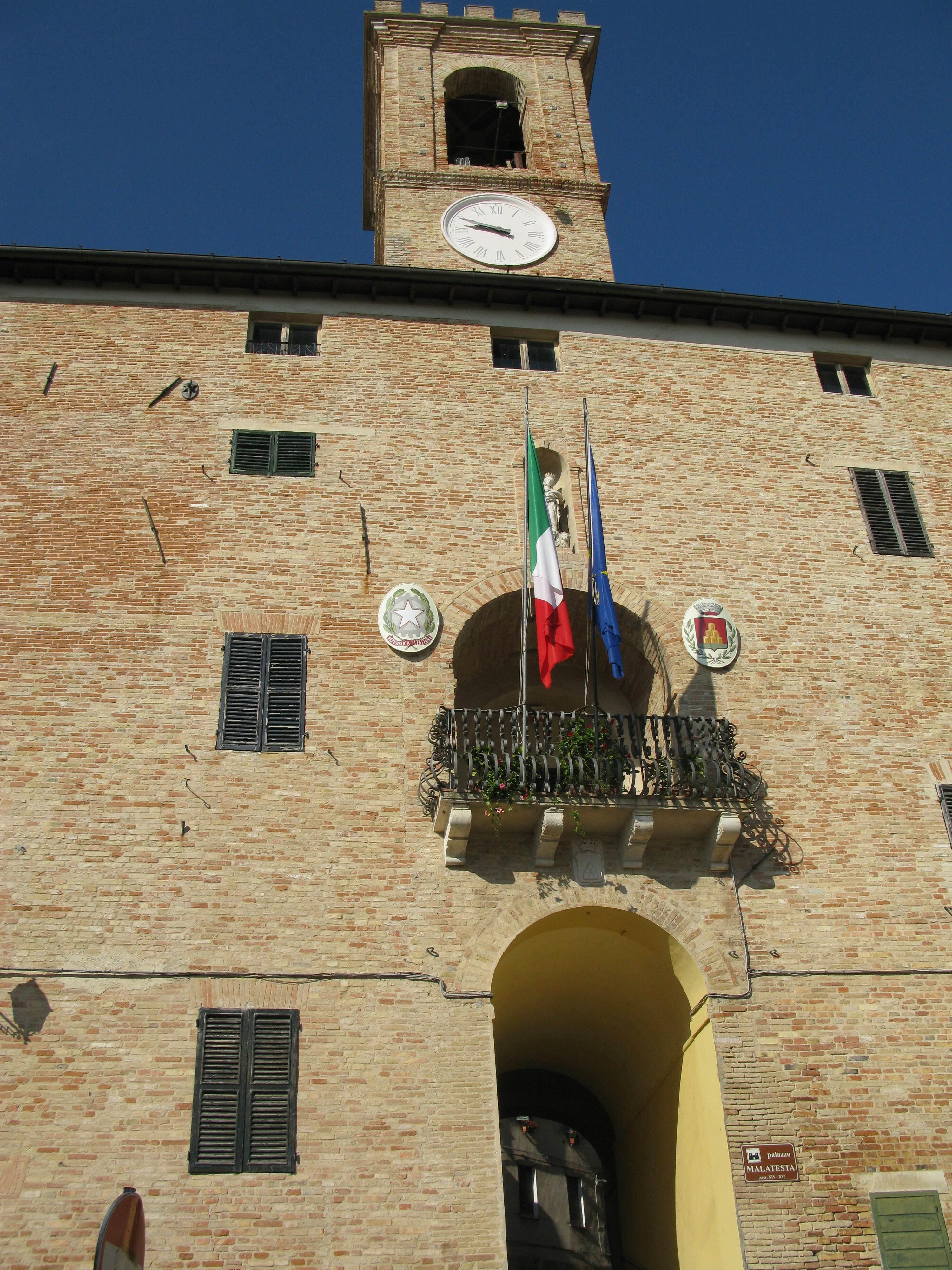 Palazzo Comunale - Monte S.Vito
