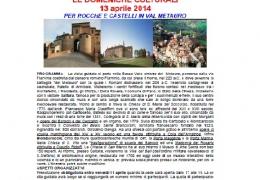 Visita guidata Val Metauro 13.4.2014