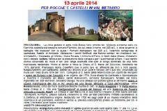 Val Metauro Mombarocci 13.4.14